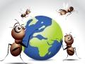 Ants_and_Globe